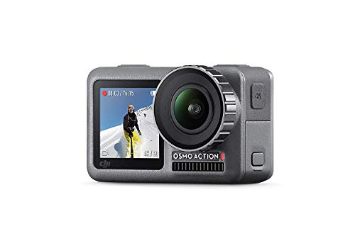 DJI Osmo Action Cam Digitale Actionkamera mit 2 Bildschirmen 11m wasserdicht 4K...