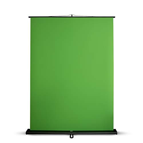 Green Screen Hintergrund 150x200 cm | Chromakey Grün...