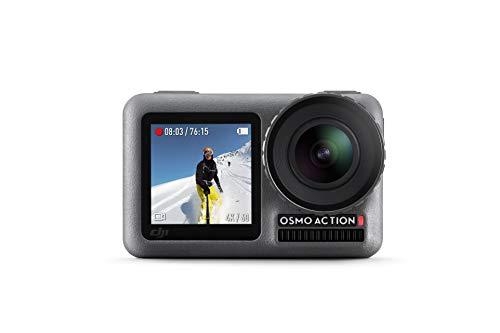 DJI Osmo Action Cam Digitale Actionkamera mit 2 Bildschirmen 11m wasserdicht 4K...