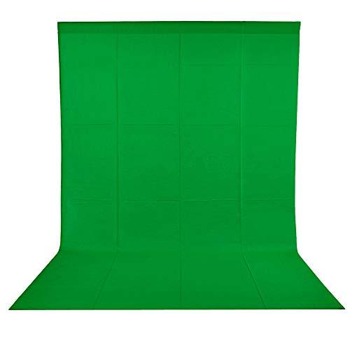 BDDFOTO 1,8 x 2,8m Greenscreen Photo Studio Hintergrund...
