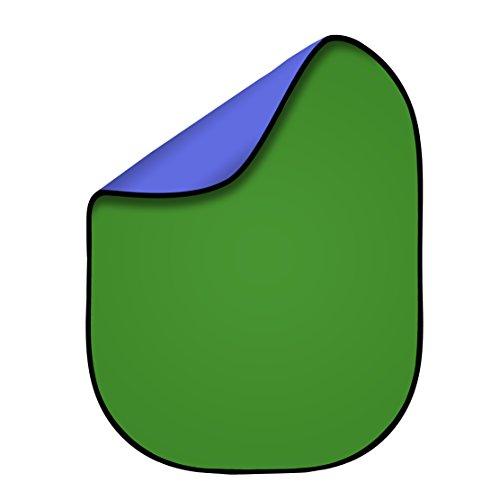 Fovitec Doppelseitiger Falthintergrund Green Screen,...
