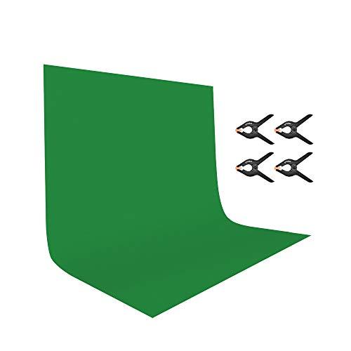 UTEBIT Greenscreen Tuch Faltbar 2x3M / 6.5x9ft...