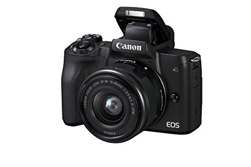 Canon EOS M50 Systemkamera spiegellos - mit Objektiv...