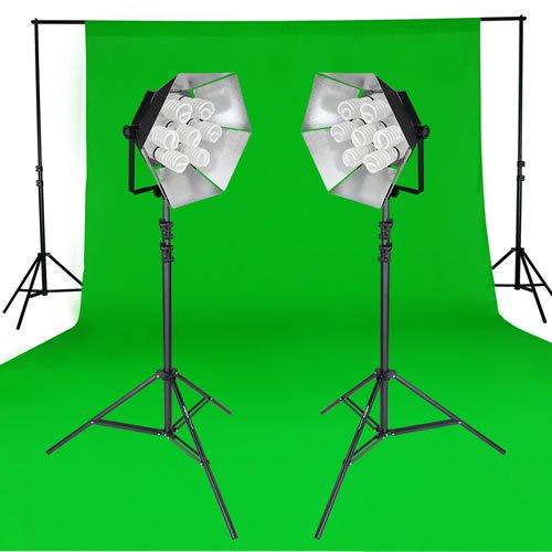Chromakey Greenscreen Studioset Daylight 1750/1750