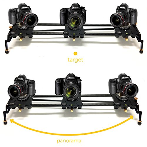 Digislider 2 Axis Auto-Pan Video, Shoot-Move-Shoot Time Lapse & Stop Motion...