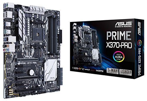 Asus PRIME X370-PRO Mainboard Sockel AM4 (ATX, AMD...