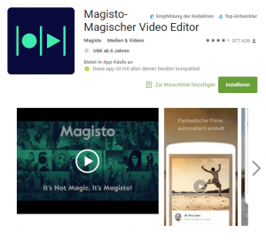 Magisto - Magischer Video Editor