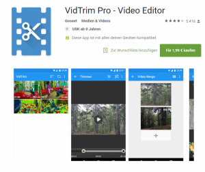 vidtrip pro - video-editor