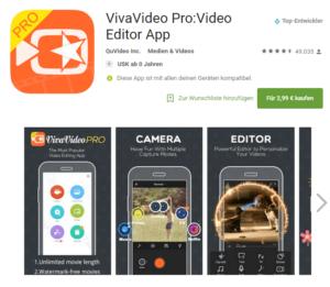 vivavideo pro video editor app