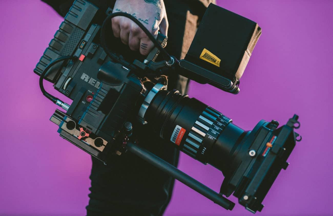 Filmproduktion Kamera